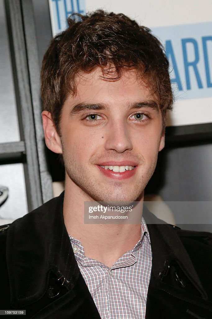 Actor David Lambert attends 'The Lifeguard' after party on January 19, 2013 in Park City, Utah.