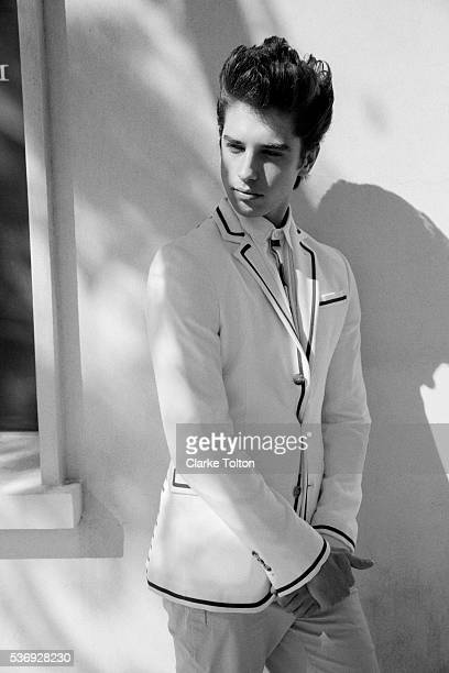 Actor David Lambert is photographed for Nylon Magazine on March 8 2013 in Los Angeles California PUBLISHED IMAGE