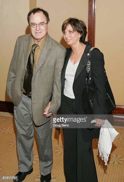 Actor David Lander and Kathy Lander pose for a portrait during the The National Multiple Sclerosis Society's 30th Annual Dinner of Champions to Honor...