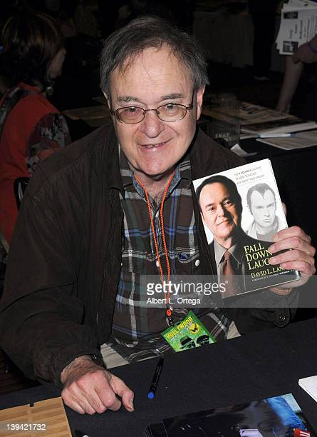 Actor David Lander of Lavern Shirley attends the Hollywood Show held at Burbank Airport Marriott on February 11 2012 in Burbank California