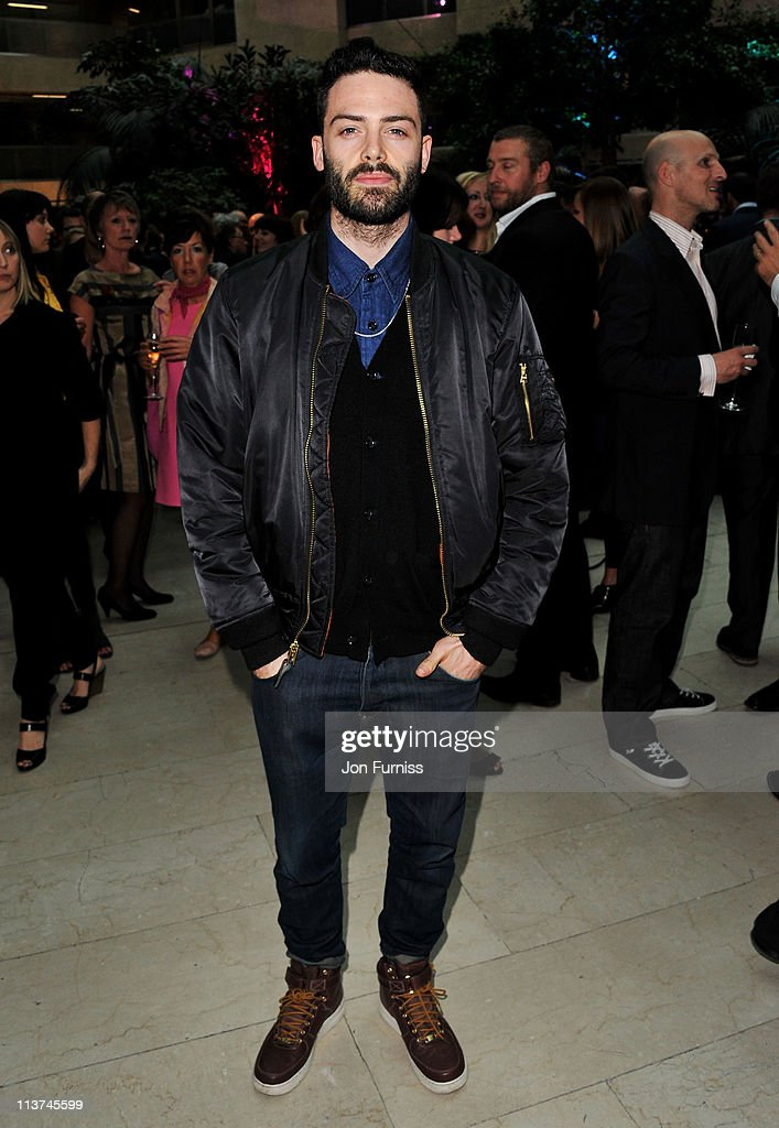 Actor David Leon attends the nominees party for 'The Philips British Academy Television and British Academy Television Craft Awards' at Coutts Bank on May 5, 2011 in London, England.