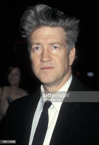 Actor David Lynch attends the premiere of 'Lost Highway' on February 18 1991 at the Cinerama Dome Theater in Hollywood California
