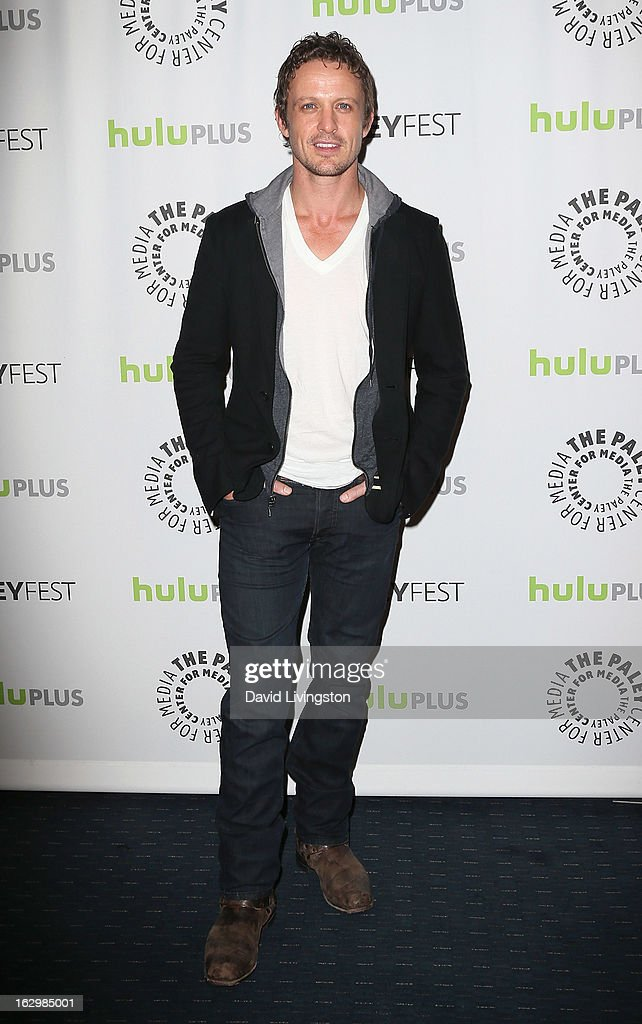 Actor David Lyons attends The Paley Center for Media's PaleyFest 2013 honoring 'Revolution' at the Saban Theatre on March 2, 2013 in Beverly Hills, California.