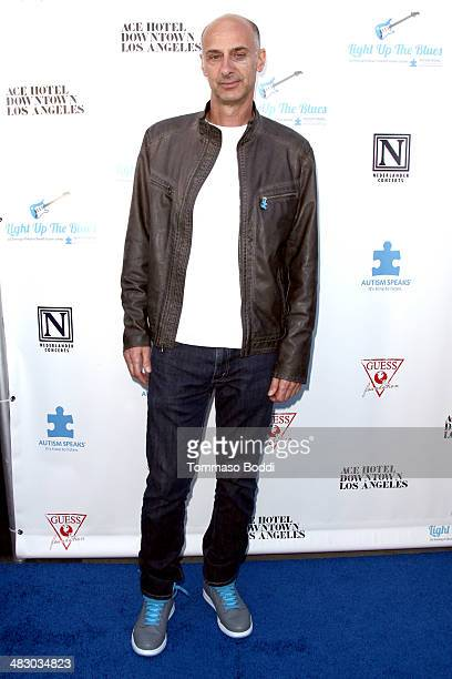 Actor David Marciano attends the 2nd Light Up The Blues Concert benefiting Autism Speaks held at The Ace Hotel Theater on April 5 2014 in Los Angeles...