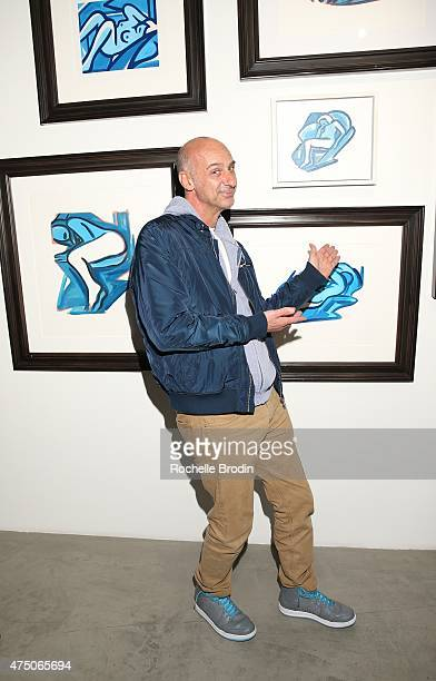 Actor David Marciano attends the 'Blue Nudes' exhibtion at De Re Gallery on May 28 2015 in West Hollywood California