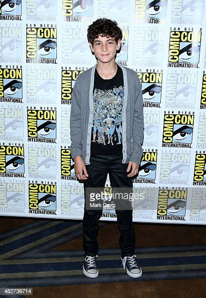 Actor David Mazouz attends the 'Gotham' press line during ComicCon International 2014 at Hilton Bayfront on July 26 2014 in San Diego California