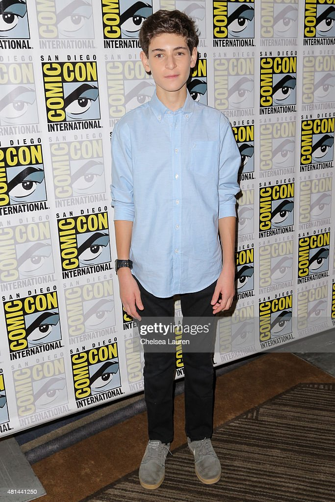 Actor David Mazouz attends the 'Gotham' press room on July 11, 2015 in San Diego, California.