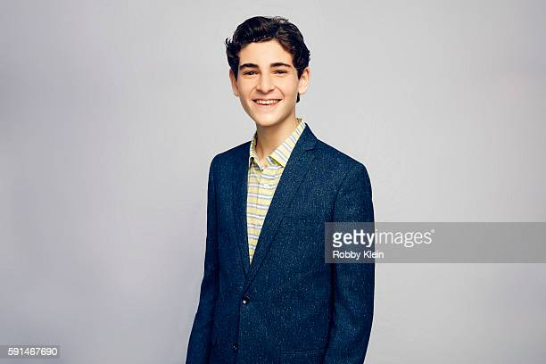 Actor David Mazouz from FOX's 'Gotham' poses for a portrait at the FOX Summer TCA Press Tour at Soho House on August 9 2016 in Los Angeles California
