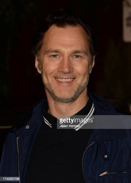 Actor David Morrissey attends The Walking Dead 10th Anniversary Celebration Event during ComicCon 2013 on July 19 2013 in San Diego California