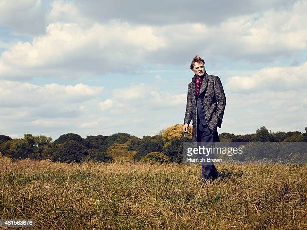 Actor David Morrissey is photographed for Red magazine on July 9 2014 in London England