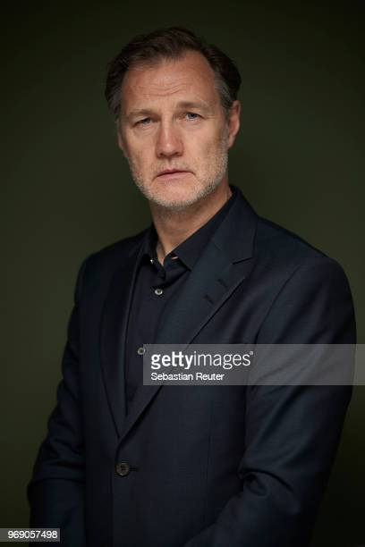 Actor David Morrissey poses at a portrait session during the 2nd International TV Series Festival at Lux 11 on June 7 2018 in Berlin Germany