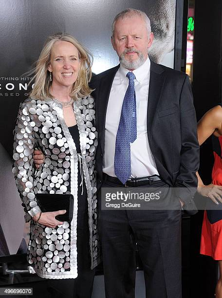 Actor David Morse and Susan Wheeler Duff arrive at the AFI FEST 2015 Presented By Audi Centerpiece Gala Premiere of Columbia Pictures' Concussion at...