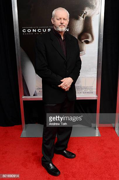 Actor David Morse attends the Concussion New York premiere at AMC Loews Lincoln Square on December 16 2015 in New York City