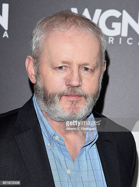Actor David Morse attends the photo call for WGN America's 'Underground' and 'Outsiders' at The Langham Hotel on January 13 2017 in Pasadena...