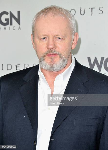 Actor David Morse attends the WGN America Winter 2016 TCA Press Tour for Outsiders at The Langham Huntington Hotel and Spa on January 8 2016 in...