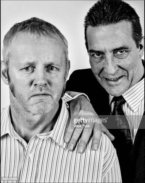 Actor David Morse poses at a portrait session with actor Ciaran Hinds in New York City