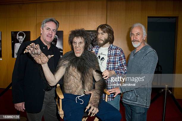 Actor David Naughton and makeup artist Rick Baker attend 'Universal's Legacy Of Horror' Hosted By AMPAS Screens 'The Wolf Man' And 'An American...