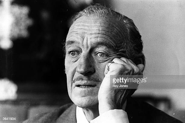 Actor David Niven born in Kirriemuir Angus After serving in the Highland Light Infantry in Malta Niven tried his hand at a range of jobs from news...
