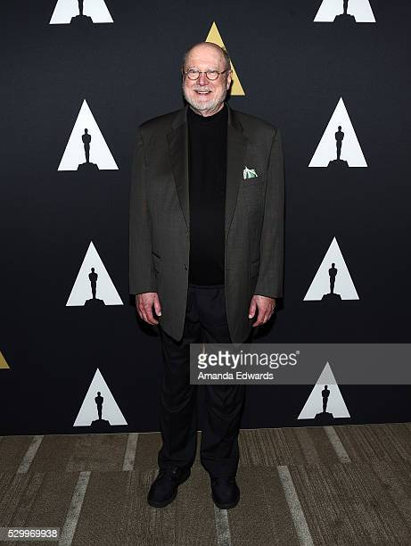 Actor David Ogden Stiers arrives at the Academy's 25th Anniversary Screening of 'Beauty And the Beast' A Marc Davis Celebration of Animation at the...