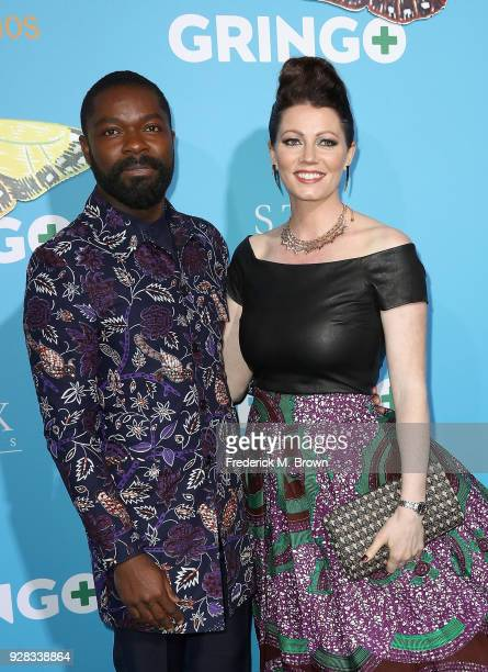 Actor David Oyelowo and Jessica Oyelowo attend the world premiere of 'Gringo' from Amazon Studios and STX Films at Regal LA Live Stadium 14 on March...