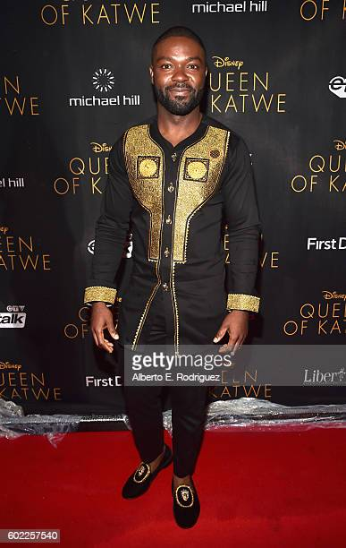 """Actor David Oyelowo arrives at the world premiere of Disney's """"Queen of Katwe"""" at Roy Thompson Hall as part of the 2016 Toronto Film Festival where..."""