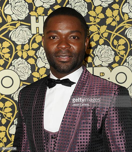 Actor David Oyelowo attends HBO's post 2016 Golden Globe Awards party at Circa 55 Restaurant on January 10 2016 in Los Angeles California
