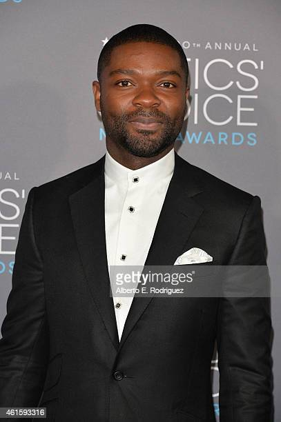Actor David Oyelowo attends the 20th annual Critics' Choice Movie Awards at the Hollywood Palladium on January 15 2015 in Los Angeles California