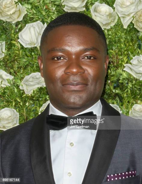 Actor David Oyelowo attends the 71st Annual Tony Awards at Radio City Music Hall on June 11 2017 in New York City
