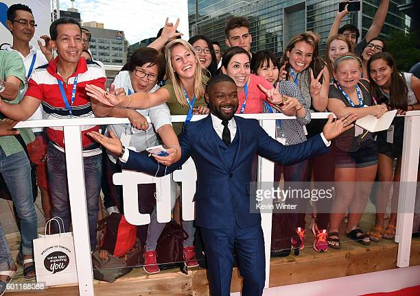 """Actor David Oyelowo attends the """"A United Kingdom"""" premiere during the 2016 Toronto International Film Festival at Roy Thomson Hall on September 9,..."""