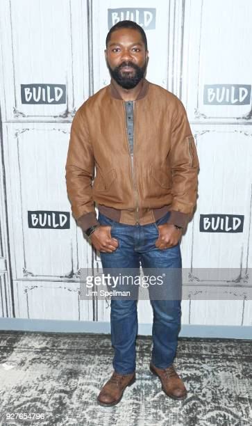 Actor David Oyelowo attends the Build Series to discuss 'Gringo' at Build Studio on March 5 2018 in New York City