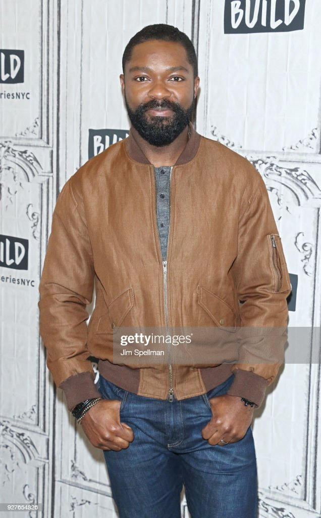 Actor David Oyelowo attends the Build Series to discuss 'Gringo' at Build Studio on March 5, 2018 in New York City.