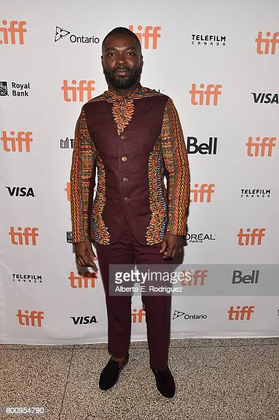 Actor David Oyelowo attends The Wedding Party premiere during the 2016 Toronto International Film Festival at The Elgin on September 8 2016 in...