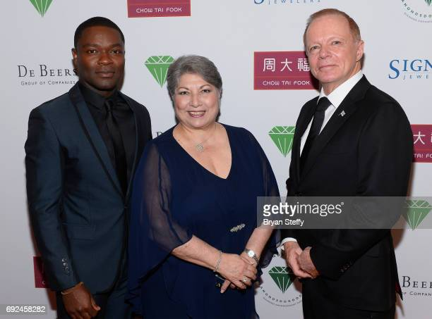 Actor David Oyelowo Diamond Empowerment Fund Board of Director President Gemological Institute of America Anna Martin and Ambassador Extraordinary...