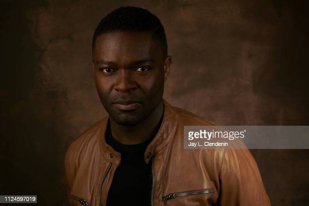 Actor David Oyelowo from 'Relive' is photographed for Los Angeles Times on January 27 2019 at the 2019 Sundance Film Festival in Salt Lake City Utah...