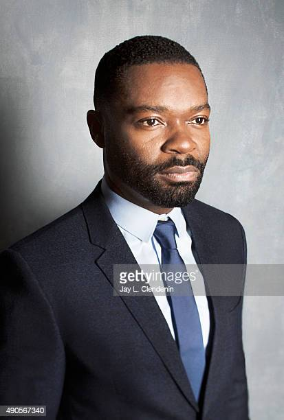 Actor David Oyelowo from the film Five Nights in Maine is photographed for Los Angeles Times on September 25 2015 in Toronto Ontario PUBLISHED IMAGE...