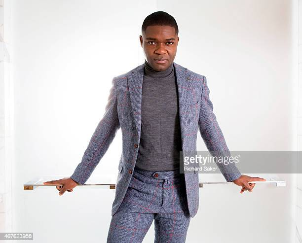 Actor David Oyelowo is photographed for the Guardian on January 28 2015 in London England
