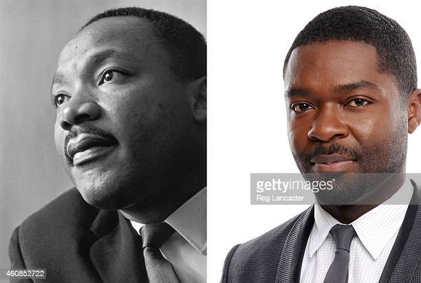 In this composite image a comparison has been made between Martin Luther King Jr and actor David Oyelowo Actor David Oyelowo will reportedly play...