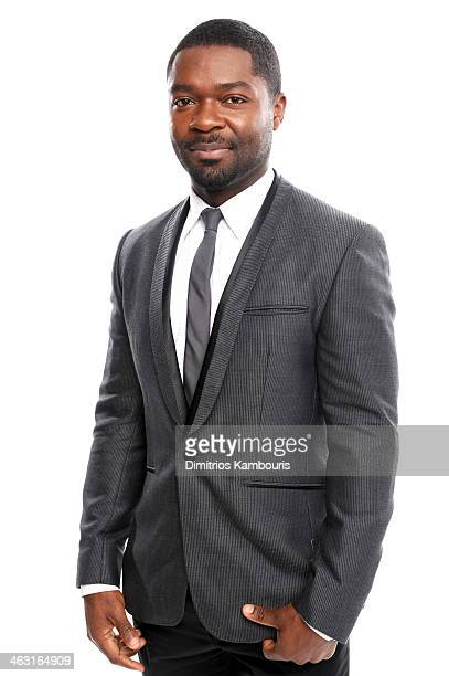Actor David Oyelowo poses for a portrait during the 19th Annual Critics' Choice Movie Awards at Barker Hangar on January 16, 2014 in Santa Monica,...