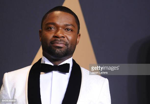 Actor David Oyelowo poses in the press room at the 89th annual Academy Awards at Hollywood Highland Center on February 26 2017 in Hollywood California