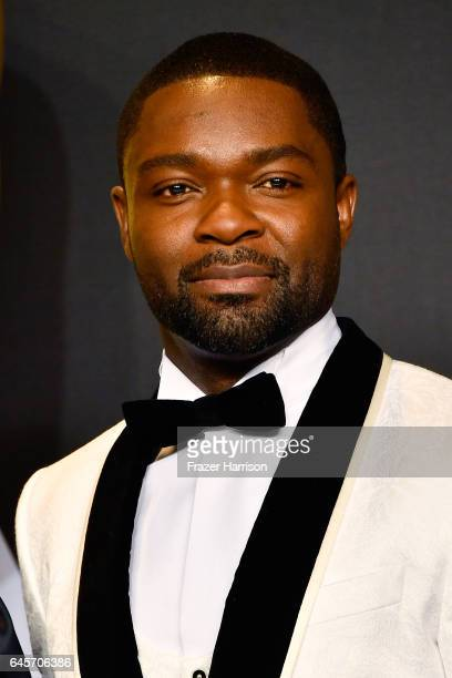 Actor David Oyelowo poses in the press room during the 89th Annual Academy Awards at Hollywood Highland Center on February 26 2017 in Hollywood...
