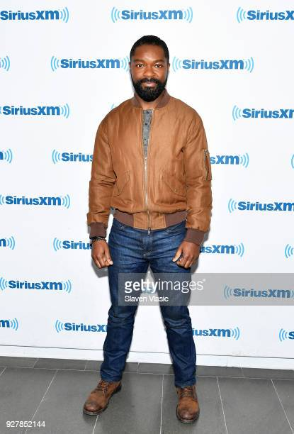Actor David Oyelowo visits SiriusXM Studios on March 5 2018 in New York City