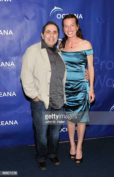 Actor David Proval and actor Tanna Frederick attend the 2009 Project Save Our Surf 1st Annual Surfathon and Oceana Awards at Shutters on the Beach...