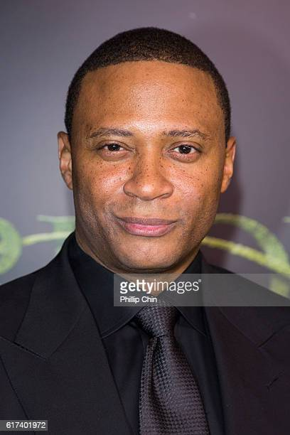 Actor David Ramsey arrives on the green carpet for the celebration of the 100th Episode of CW's 'Arrow' at the Fairmont Pacific Rim Hotel on October...