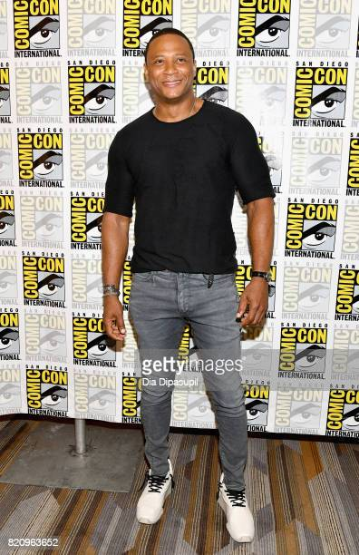Actor David Ramsey at the Arrow Press Line during ComicCon International 2017 at Hilton Bayfront on July 22 2017 in San Diego California