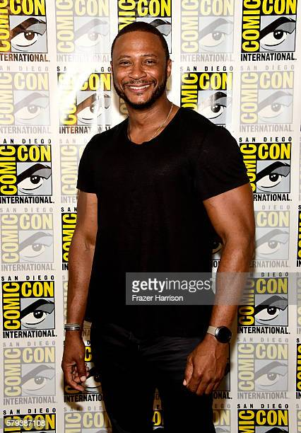 Actor David Ramsey attends Arrow Press Line during ComicCon International 2016 at Hilton Bayfront on July 23 2016 in San Diego California
