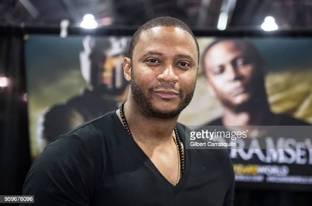 Actor David Ramsey attends the 2018 Wizard World Comic Con at Pennsylvania Convention Center on May 17 2018 in Philadelphia Pennsylvania