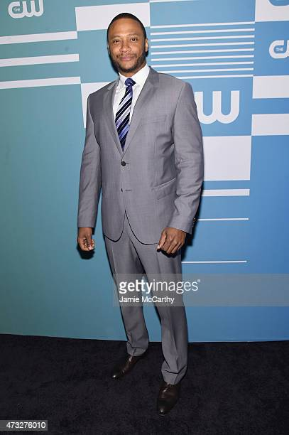 Actor David Ramsey attends the CW Network's 2015 Upfront at the London Hotel on May 14 2015 in New York City