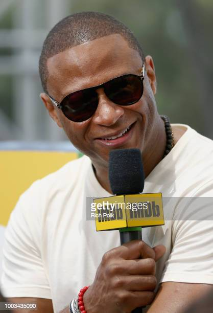 Actor David Ramsey attends the #IMDboat At San Diego ComicCon 2018 Day Three at The IMDb Yacht on July 21 2018 in San Diego California