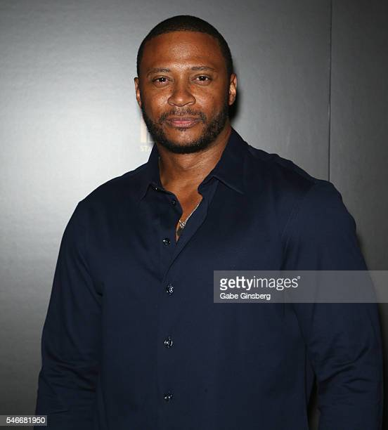 Actor David Ramsey attends the opening celebration of BAZ Star Crossed Love at The Palazzo Las Vegas on July 12 2016 in Las Vegas Nevada
