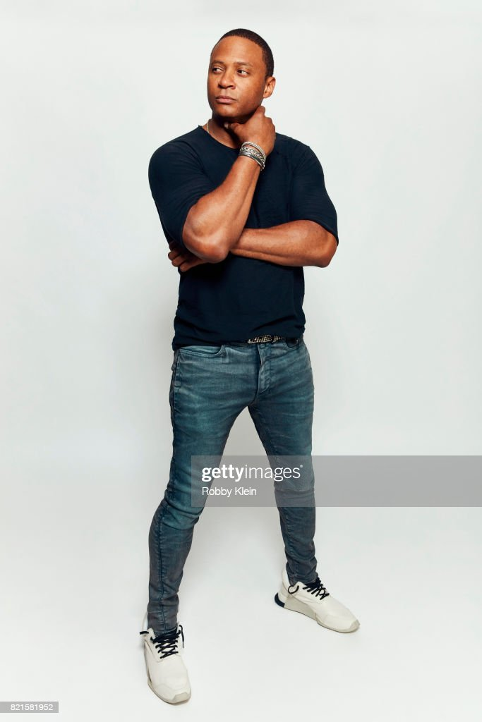 Actor David Ramsey from CW's 'Arrow' poses for a portrait during Comic-Con 2017 at Hard Rock Hotel San Diego on July 22, 2017 in San Diego, California.